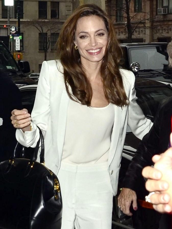 Ca fait plaisir de la voir comme ça Angelina !