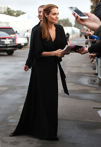 Angelina Jolie à Los Angeles le 1er mars 2014