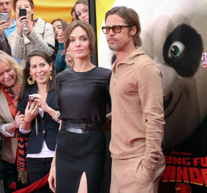 Brad Pitt a laissé tomber Cannes pour être aux côtés d'Angie...