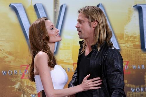Brad Pitt et Angelina Jolie à Berlin en juin 2013 pour la première de World War Z