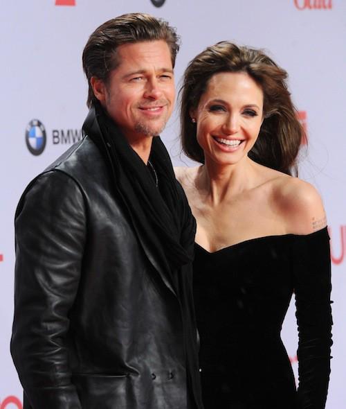 Brad Pitt et Angelina Jolie en 2010 pour la première de The Tourist à Berlin