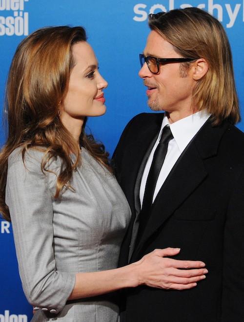 Brad Pitt et Angelina Jolie très complices