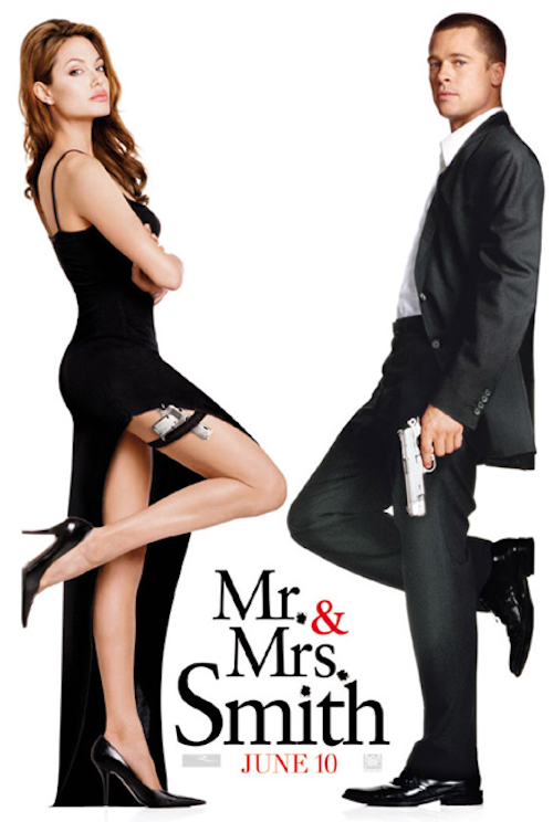 Mr et Mrs Smith en 2005