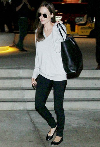 Angelina Jolie à Los Angeles le 14 février 2014