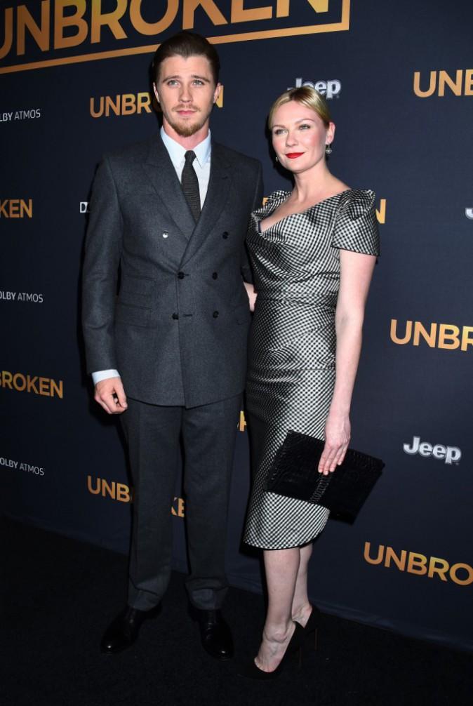 Garrett Hedlund et Kirsten Dunst le 14 décembre 2014