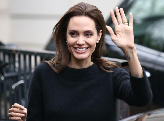 Angelina Jolie : naturelle et sobre pour enregistrer sa rencontre avec Michel Drucker !
