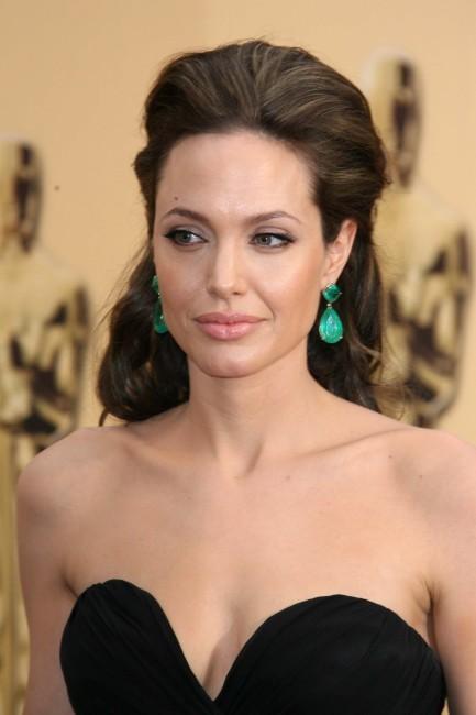 Angelina Jolie lors des Oscars 2009.