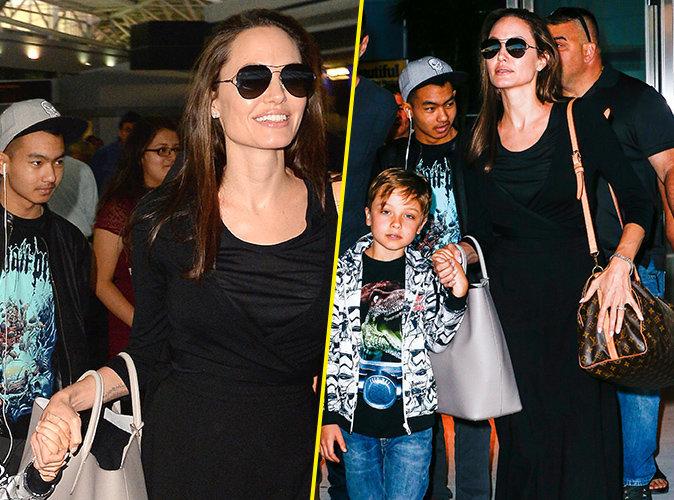 Photos : Angelina Jolie : Ses enfants parlent 7 langues différentes !