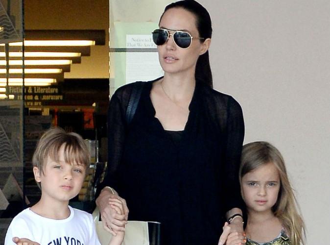 Angelina Jolie : virée shopping en petit comité !