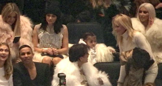 Photos : Anna Wintour, Olivier Rousteing, Karlie Kloss : tous fans de Kanye West!