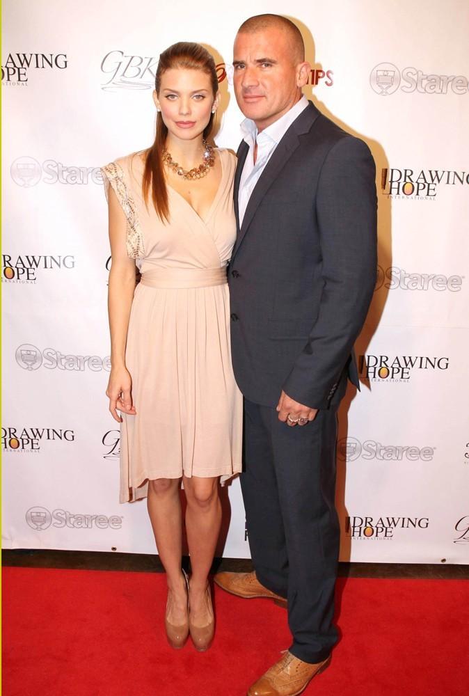 Photos : AnnaLynne McCord et Dominic Purcell en 2012