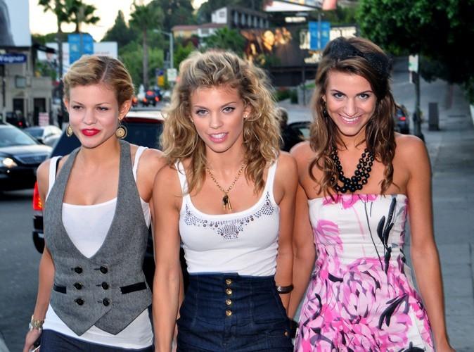 Photos : AnnaLynne McCord et ses soeurs Angel et Rachel en 2009