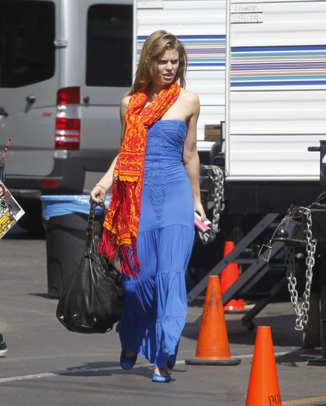 AnnaLynne McCord le 18 septembre 2012 à Los Angeles