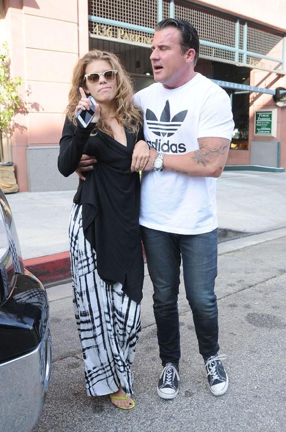 AnnaLynne McCord à la sortie de chez le dentiste, à Beverly Hills, le 26 juillet 2013