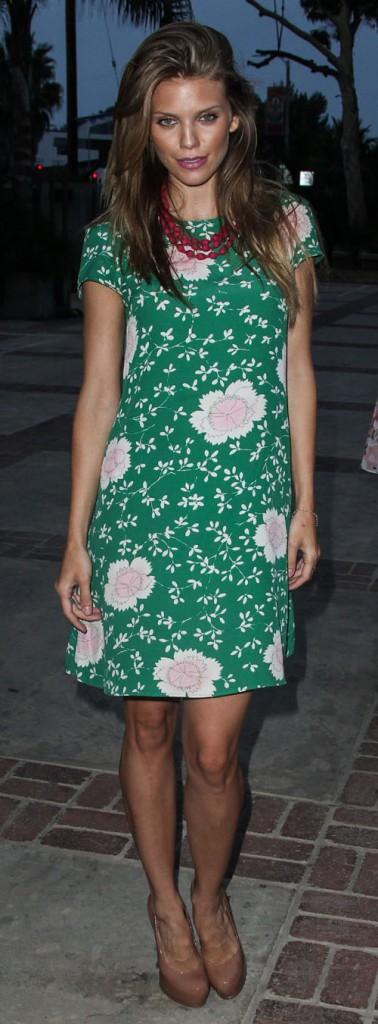 """AnnaLynne McCord à la soirée organisée par l'association """"18 for 18"""" à Venice le 18 août 2013"""