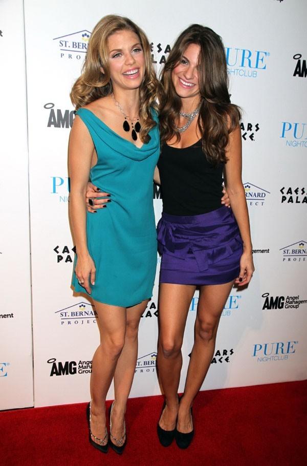 Avec sa soeur Rachel !