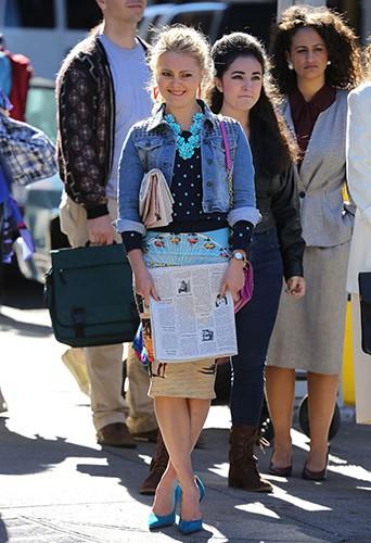AnnaSophia Robb à New-York le 23 septembre 2013