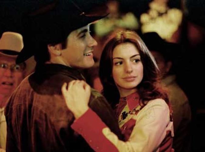 """Aux côtés de Jake Gyllenhaal dans """"Le secret de Brokeback Mountain"""" en 2005."""