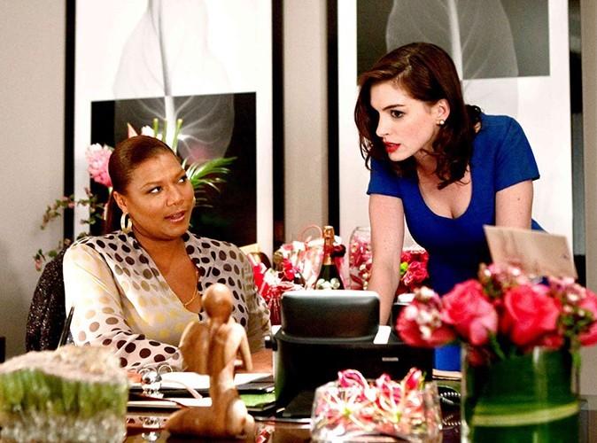 """Avec Queen Latifah dans la comédie """"Valentine's Day"""" en 2010."""