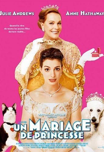 """Dans la suite de son premier film, le Disney """"Un mariage de princesse"""", en 2004."""