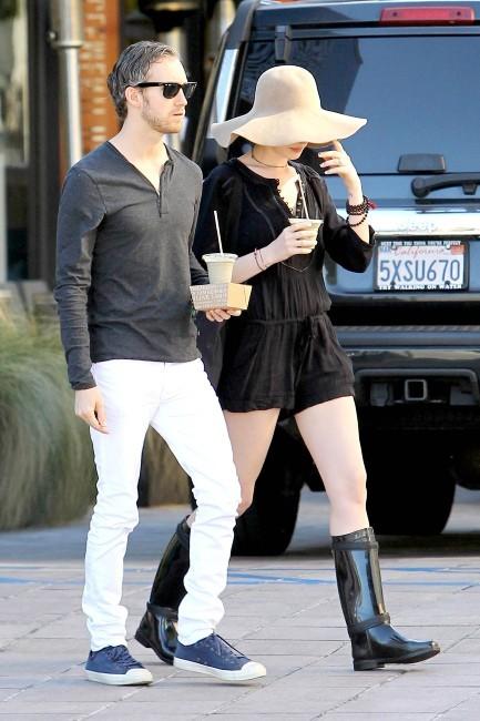 Anne Hathaway le 28 janvier 2013 à Los Angeles