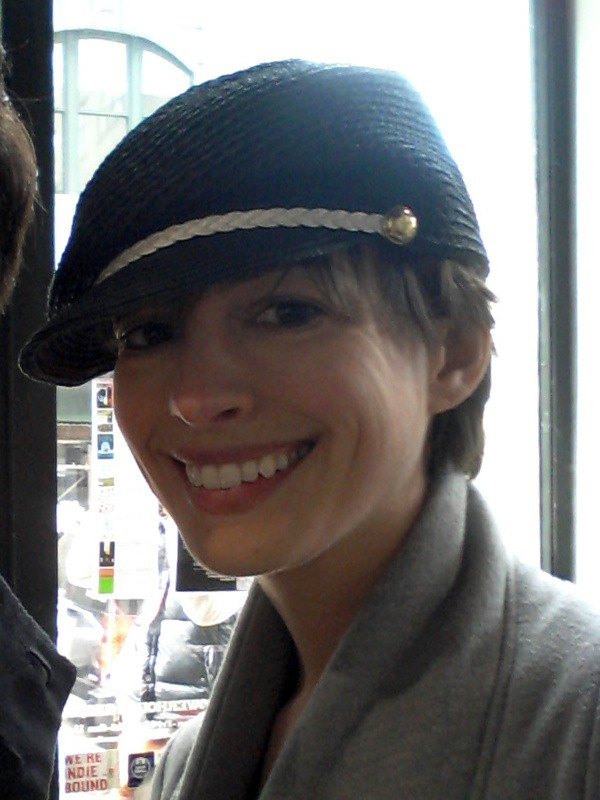 Anne Hathaway, New York, 1er avril 2013.