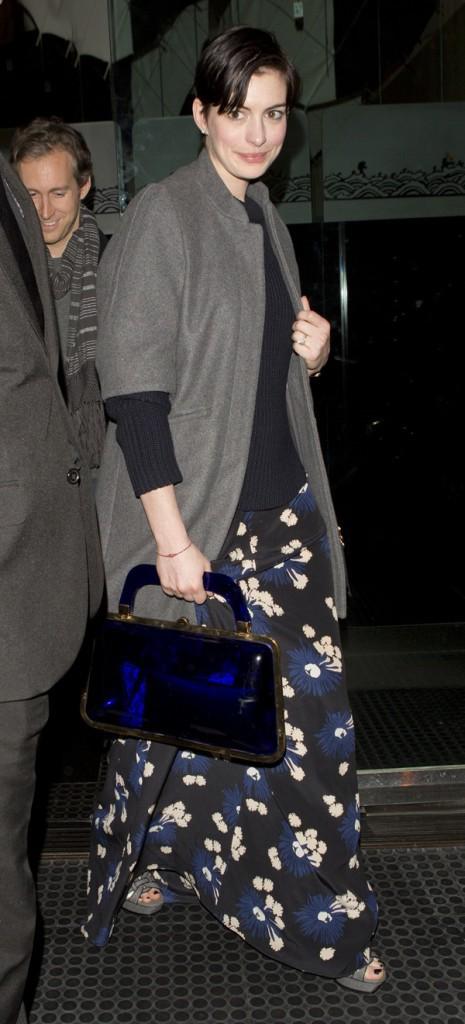 Photos : Anne Hathaway : pas vraiment au top de sa forme pour son 31ème anniversaire !