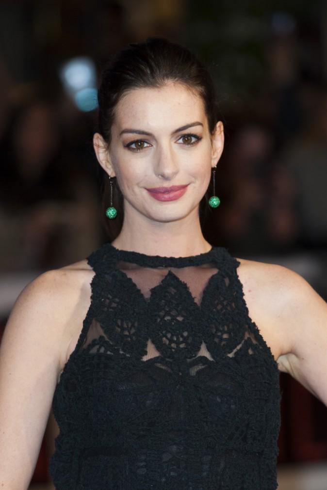 Anne Hathaway à Londres le 27 septembre 2015