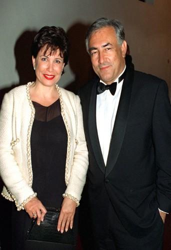 Anne Sinclair et DSK, heureux