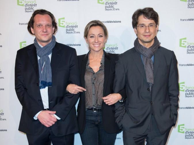 Pierre Block de Friberg, Anne-Sophie Lapix et Bruno Patino