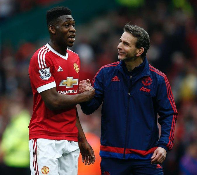 Timothy Fosu-Mensah, joueur de Manchester avec Martial