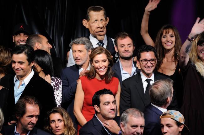 Soirée Canal + à Paris, le 28 août 2013.