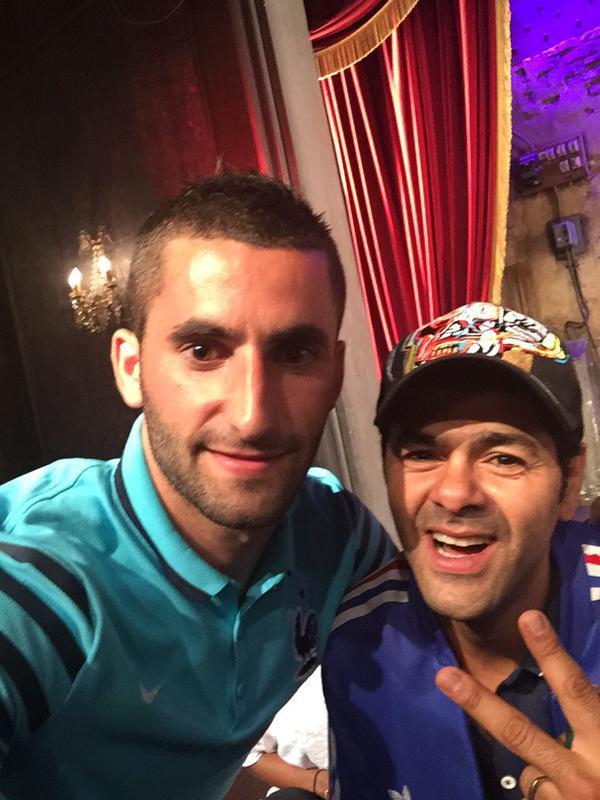 Photos : Antoine Griezmann, Bacary Sagna, Raphaël Varane... Les Bleus au top chez Jamel Debbouze !