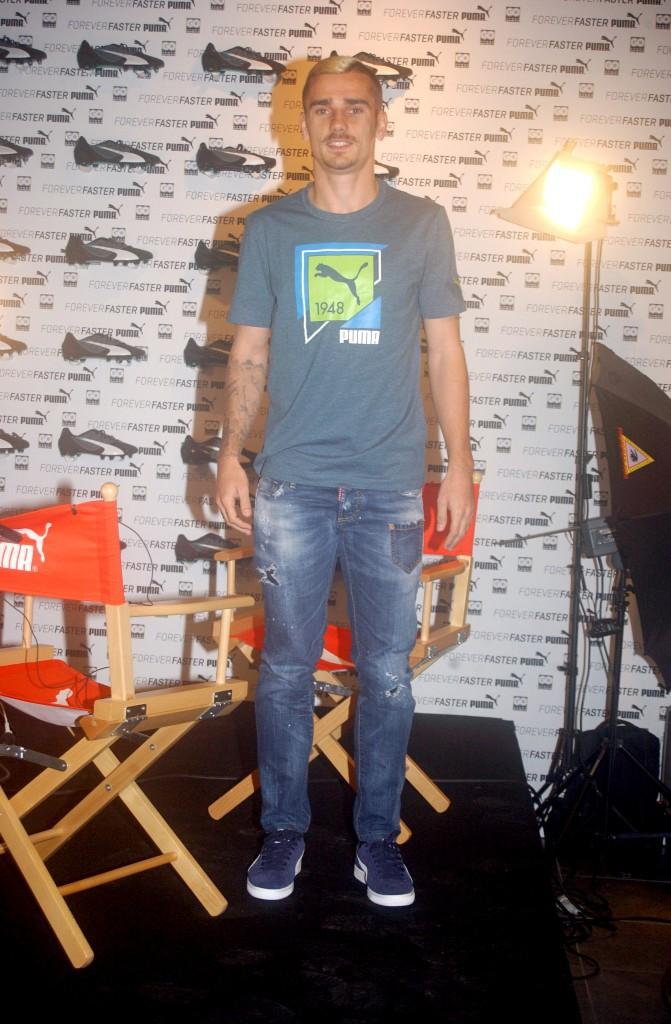 Antoine Griezmann à Paris le 1er décembre 2014