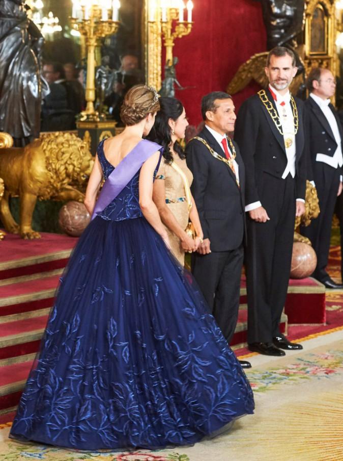 Letizia d'Espagne et le roi Felipe VI sur le 31 pour recevoir le couple présidentiel péruvien