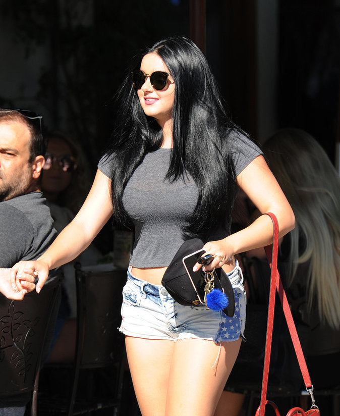 Ariel Winter à Los Angeles le 11 août 2016