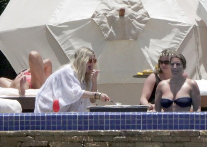 Ashlee Simpson sous le soleil de Los Cabos le 23 juin 2013