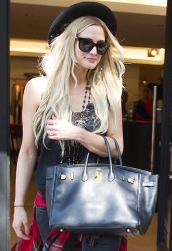 Ashlee Simpson à New York le 25 juin 2014