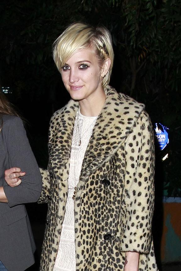 Elle adore l'imprimé léopard !