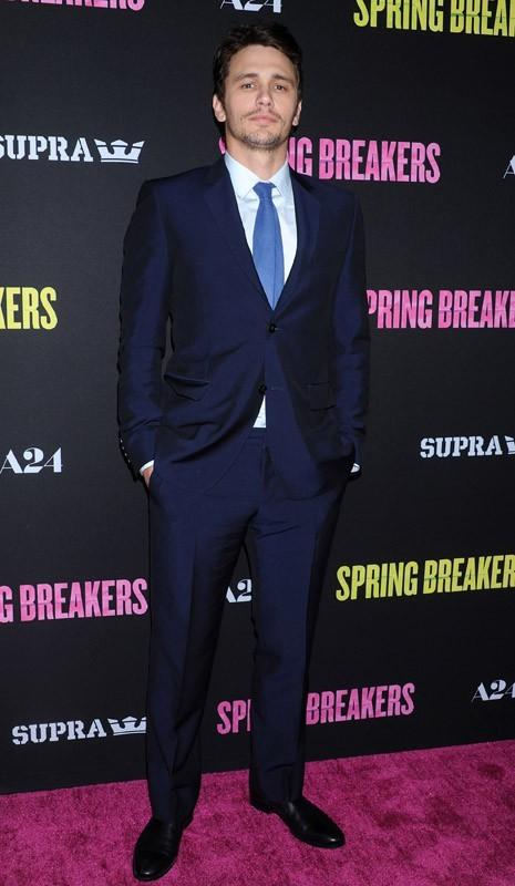 Ashley Benson et James Franco plus proches que jamais à l'avant-première de Spring Breakers !