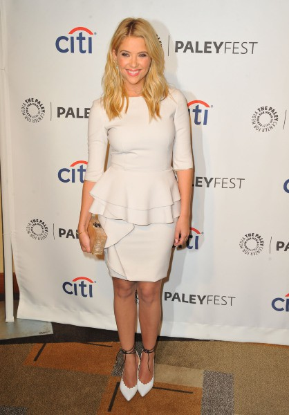 Ashley Benson lors du PaleyFest à Los Angeles, le 16 mars 2014.