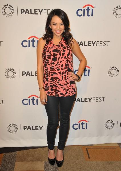 Janel Parrish lors du PaleyFest à Los Angeles, le 16 mars 2014.