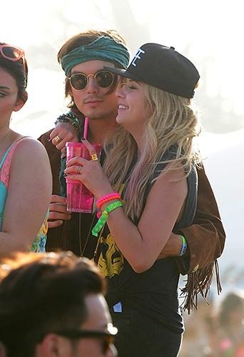 Ashley Benson au Festival de Coachella le 14 avril 2013