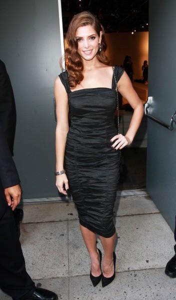 Ashley Greene lors du défilé Donna Karan à New York, le 10 septembre 2012.