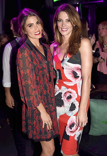 Ashley Greene et Nikki Reed à New York le 21 août 2014