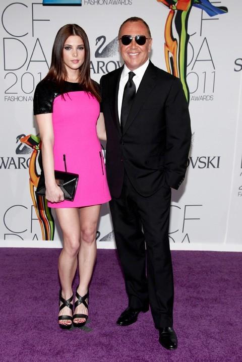 Ashley Greene et Mickael Kors