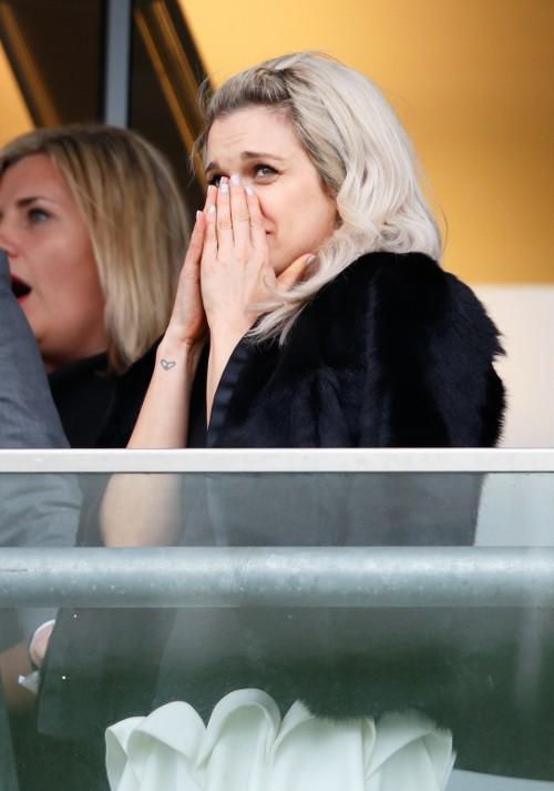 Ashley Roberts à Ascot le 29 mars 2015