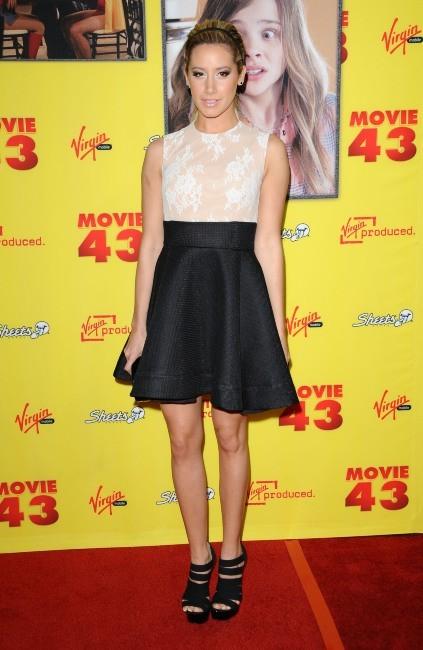 Ashley Tisdale le 23 janvier 2013 à Los Angeles