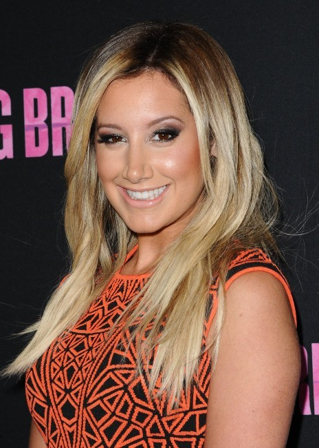 Ashley Tisdale le 14 mars 2013 à Los Angeles