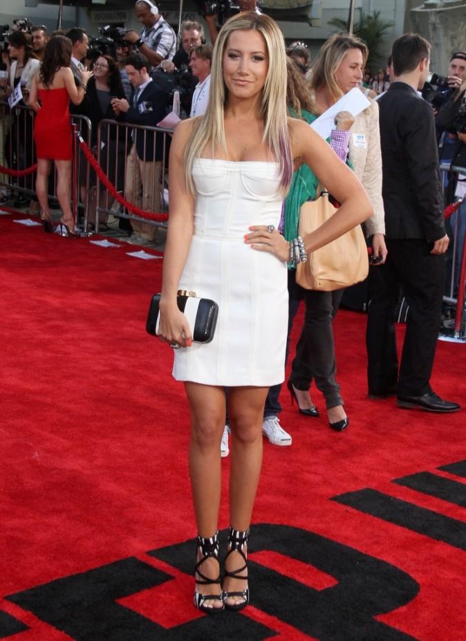 """Ashley Tisdale lors de la première du film """"Sexy Dance 4"""" à Hollywood, le 17 juillet 2012."""